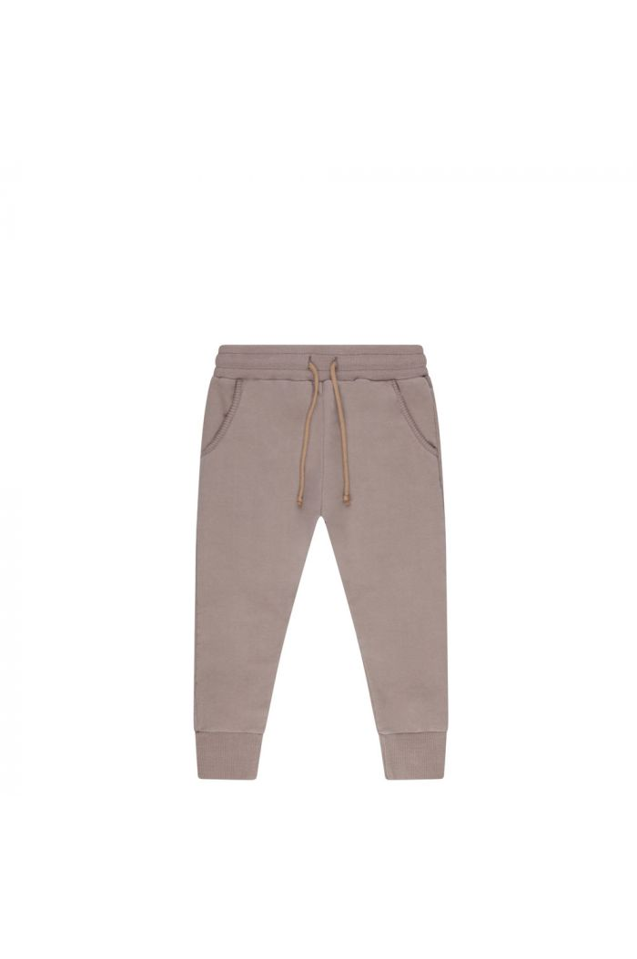 Mingo Winter Slim fit jogger sweat Taupe