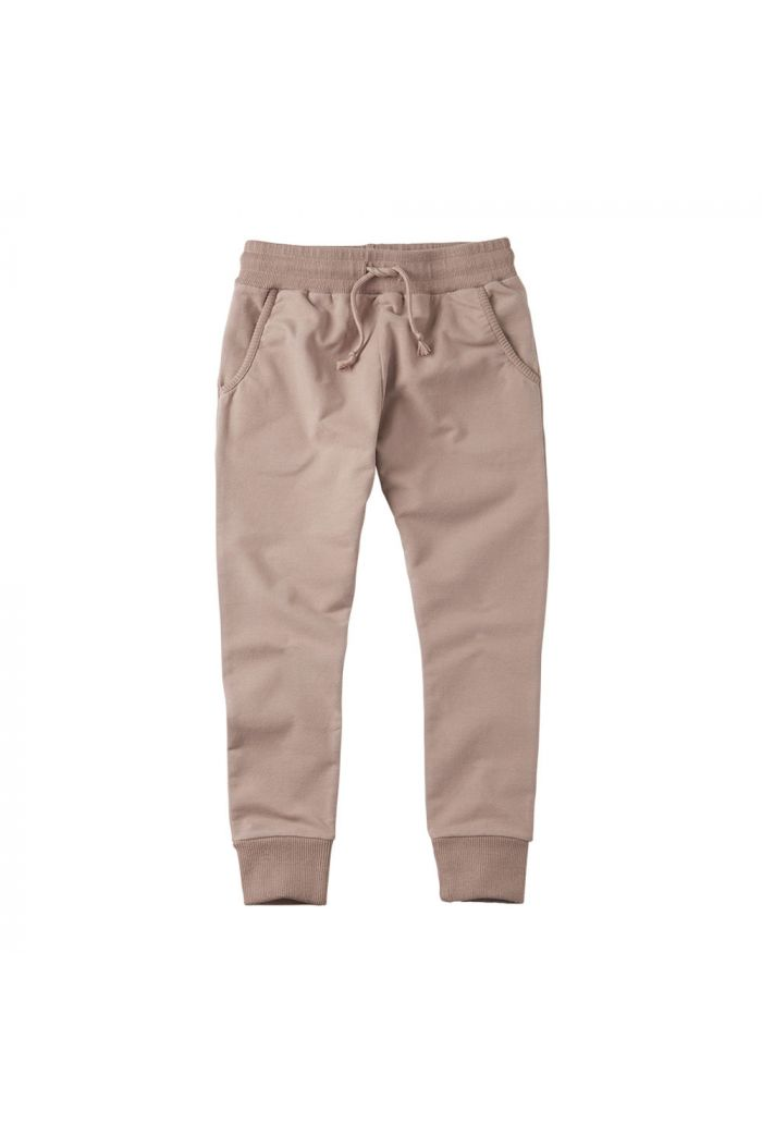 Mingo Slim Fit Jogger Sweat Fawn