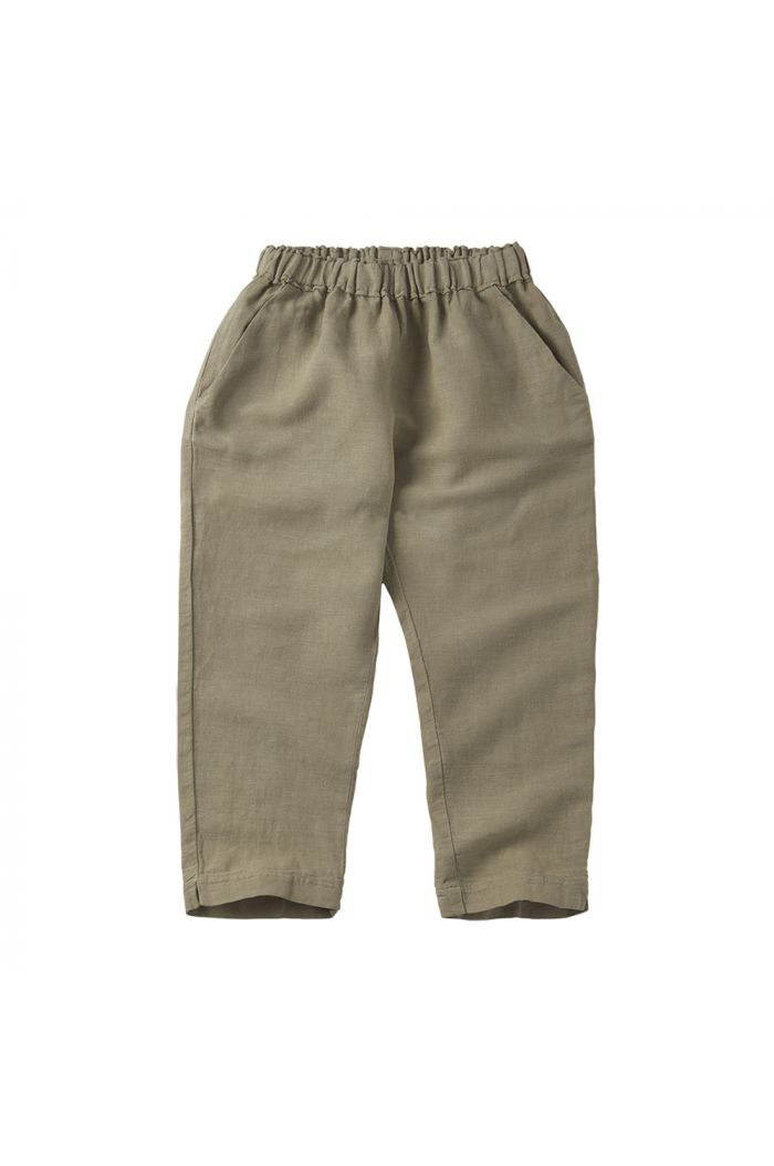 Mingo Linen Trouser Laurel Oak