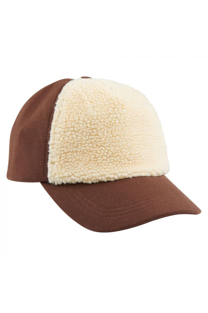 CarlijnQ Caps brown (with fake fur)