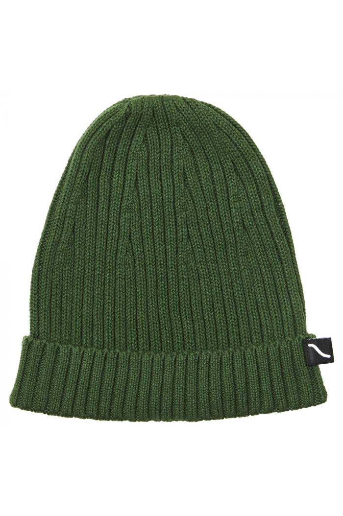 CarlijnQ beanie (green)  Knit basics