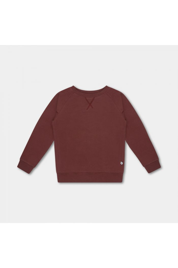 Repose AMS sweat tee warm red
