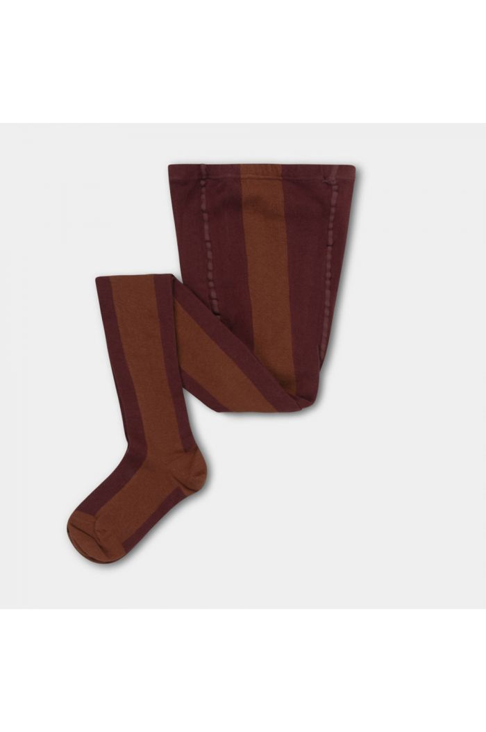 Repose AMS tights rosewood red stripe