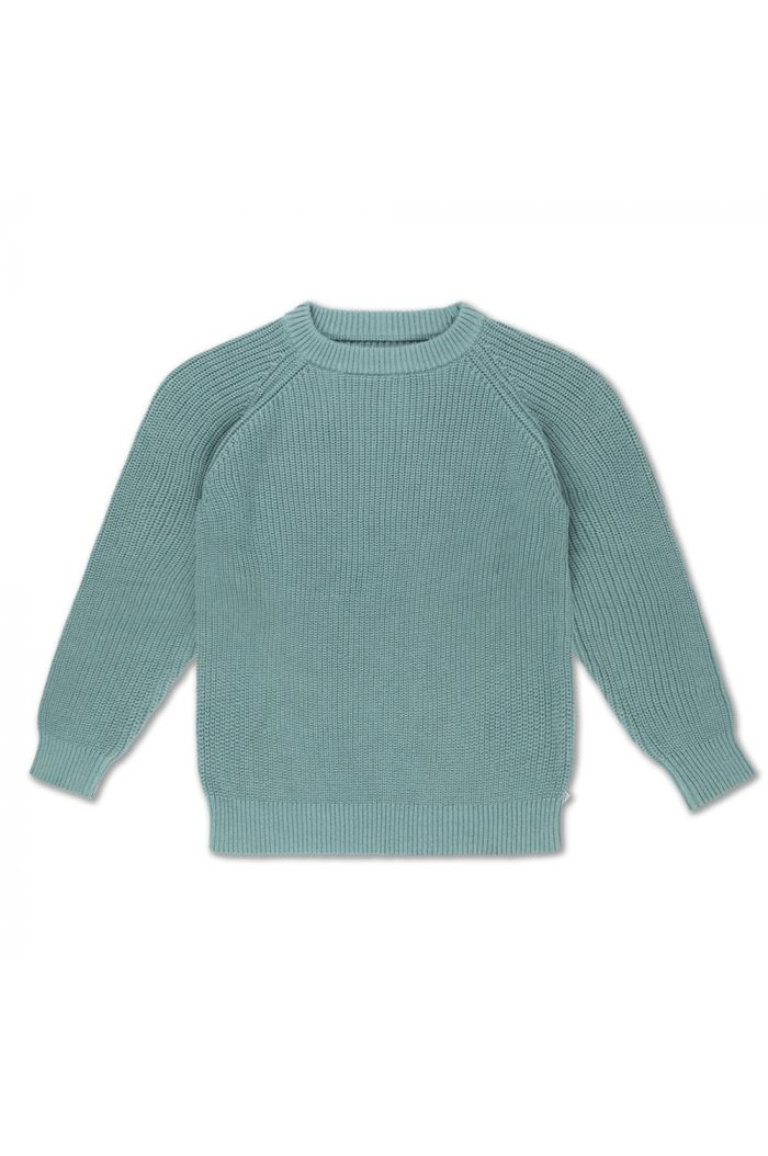 Repose AMS knit sweater greyish sea