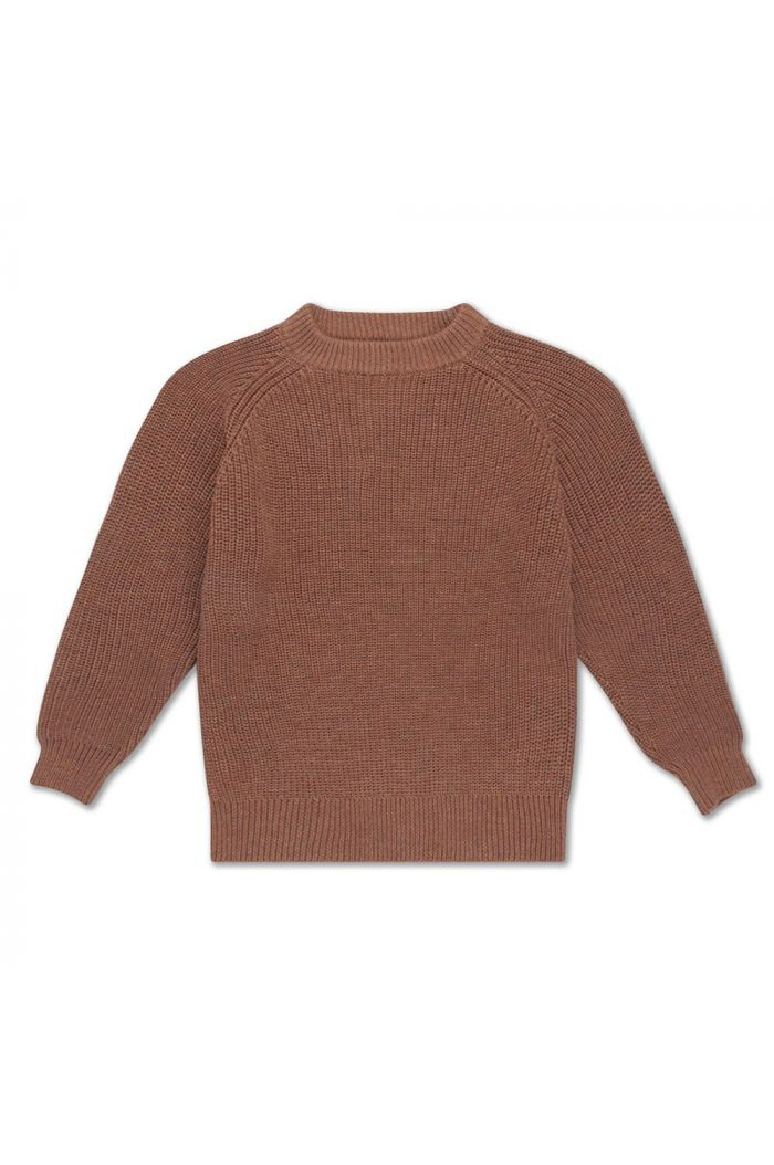 Repose AMS knit sweater rusty marble