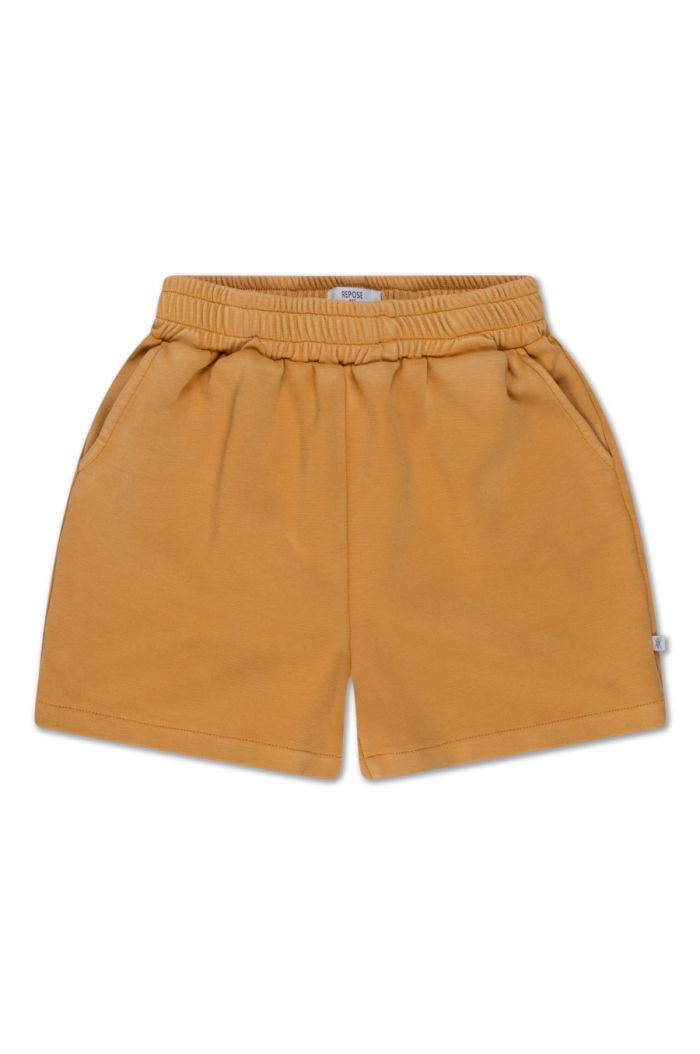 Repose AMS sweat short Golden Yellow