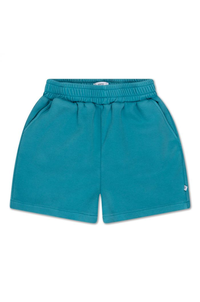 Repose AMS sweat short water blue