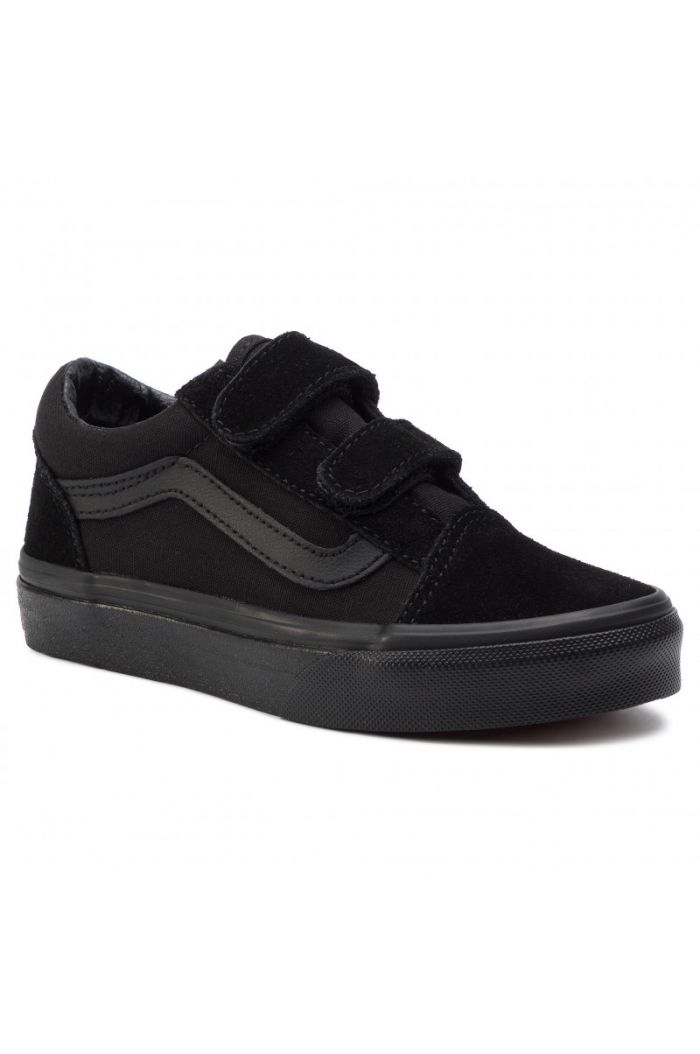 Vans Youth Old Skool Velcro Black/Black