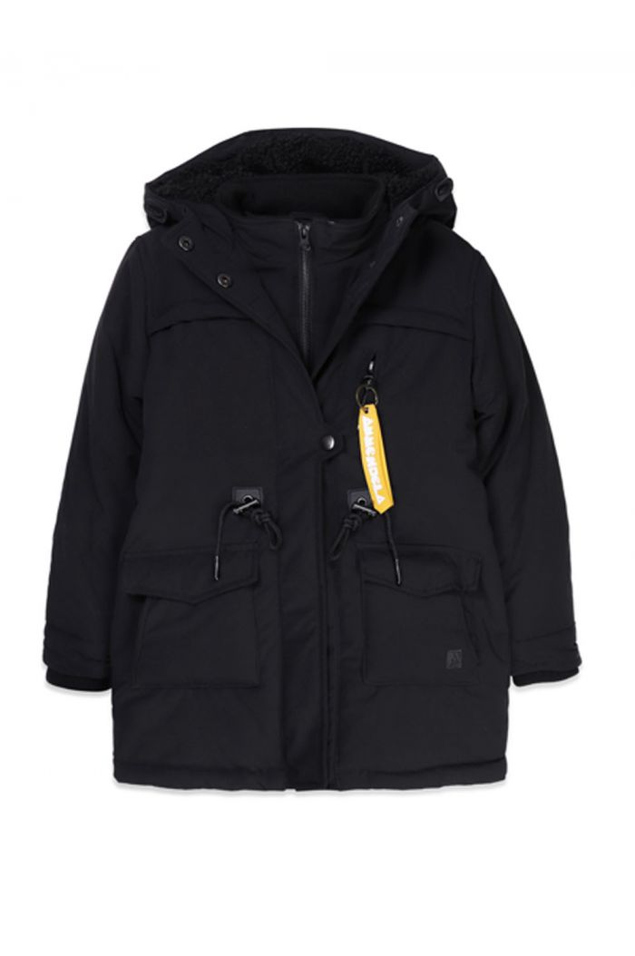 Ammehoela Storm Jacket Black