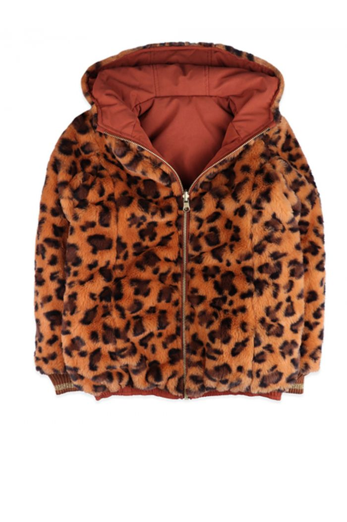 Ammehoela Lola Jacket Pink/Tiger