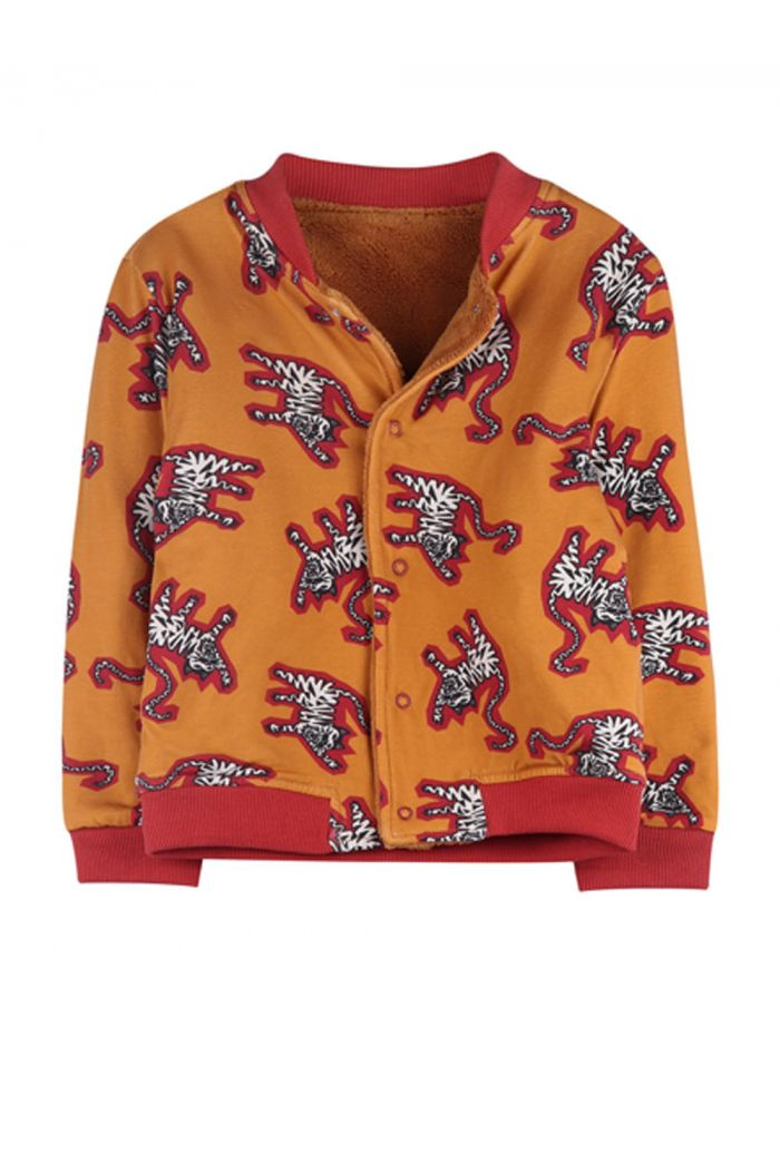 Ammehoela Ollie Jacket Tiger Yellow/light camel