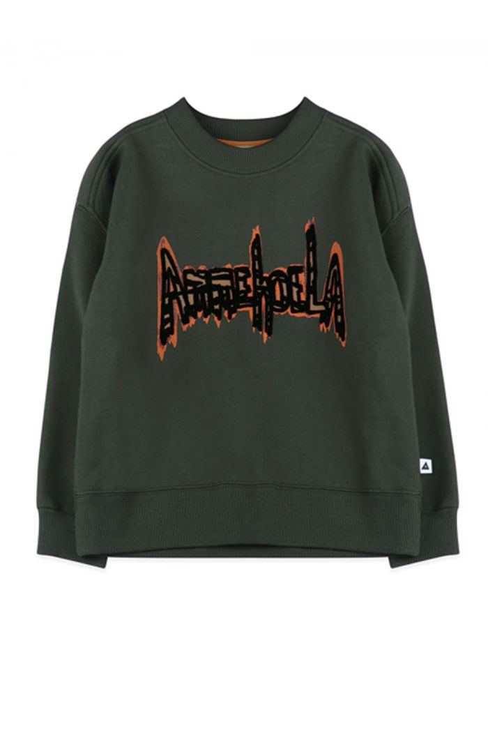 Ammehoela Rocky sweater Dark green