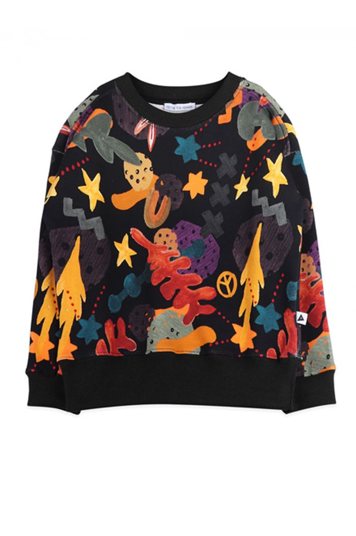 Ammehoela Rocky sweater Forrest all-over print