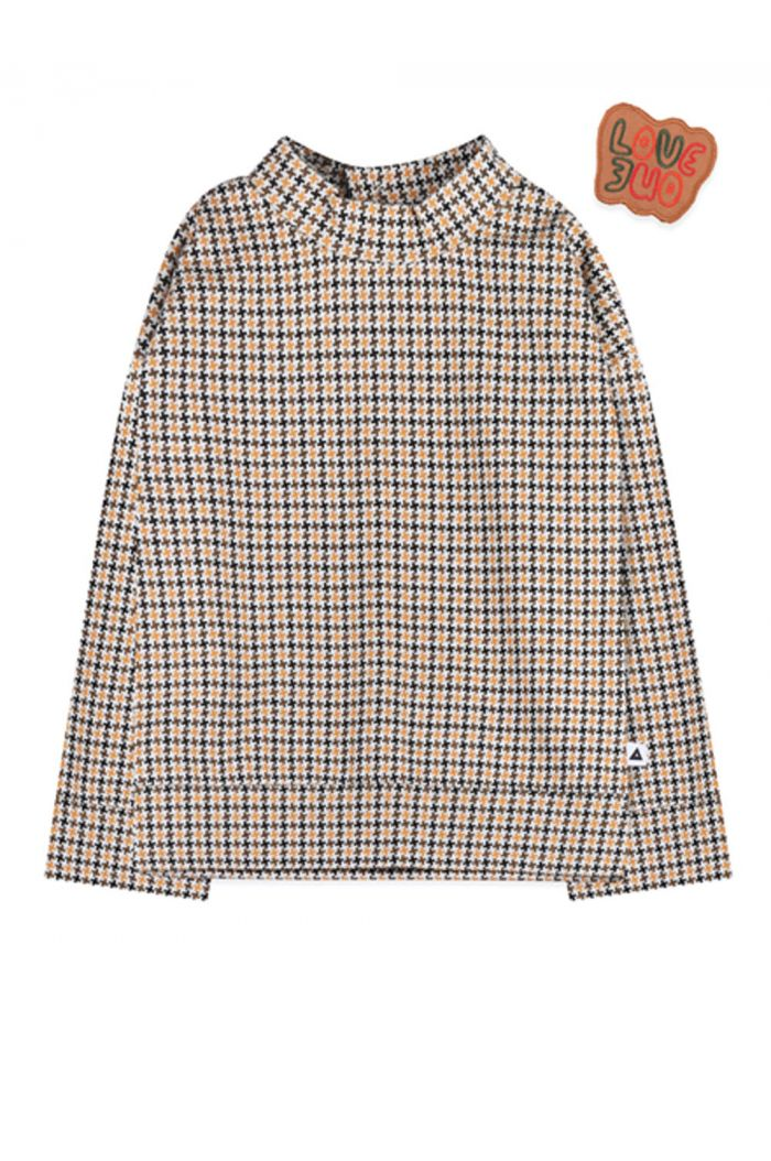 Ammehoela Dexx sweater off white check