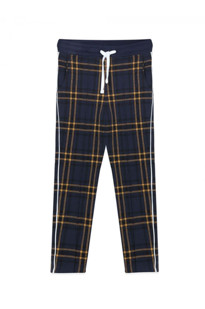 Ammehoela Jax trackpants Blue Check