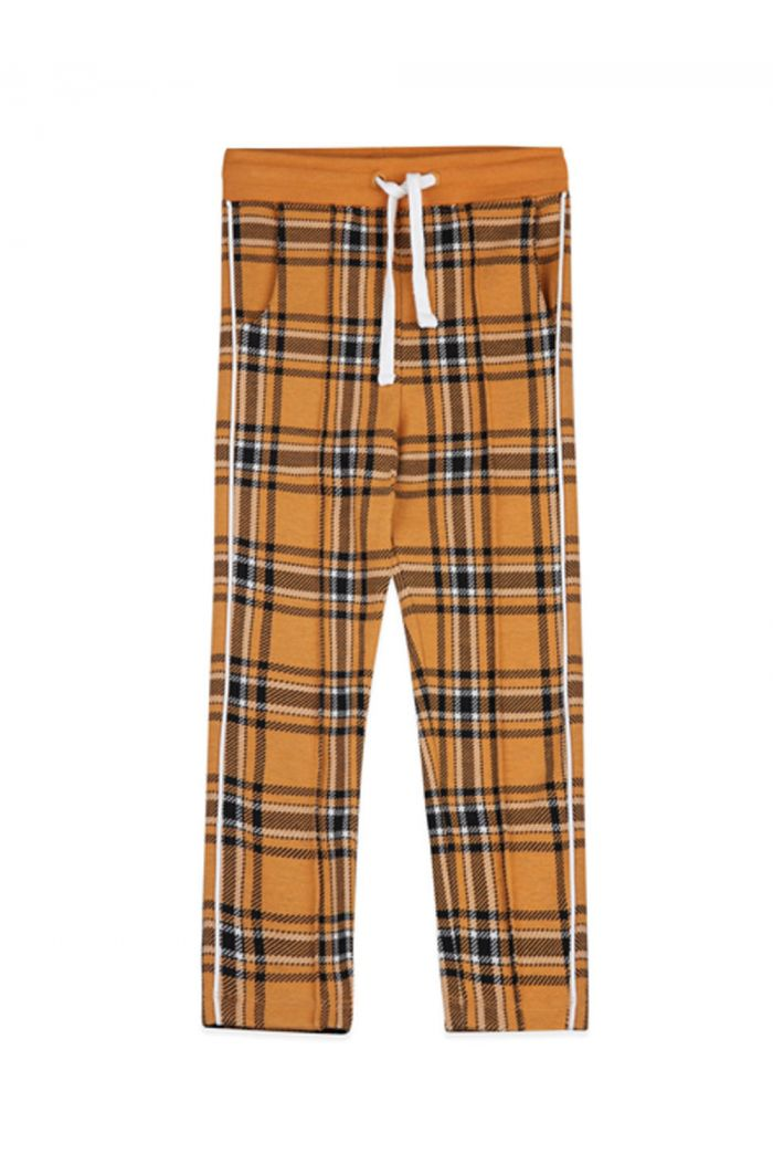 Ammehoela Jax trackpants Yellow check