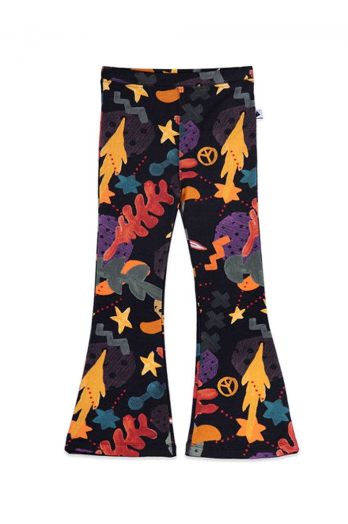 Ammehoela Liv Flared Pants Forrest all-over print