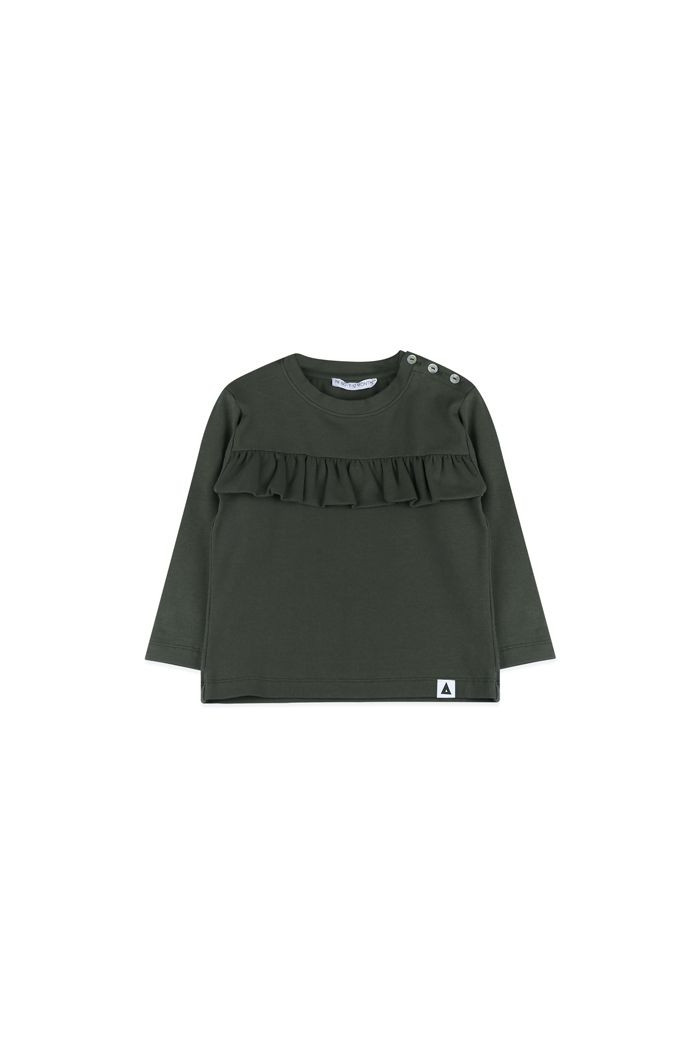 Ammehoela Coco sweater Baby Dark army