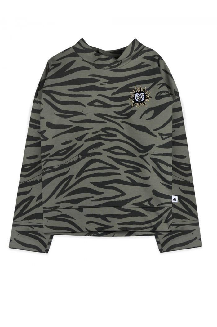 Ammehoela Dexx sweater Army Tiger