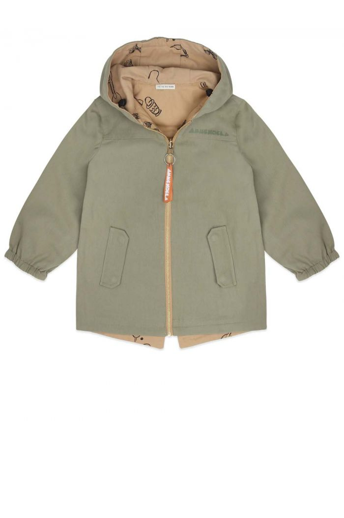 Ammehoela Cloudy Parka Oil green