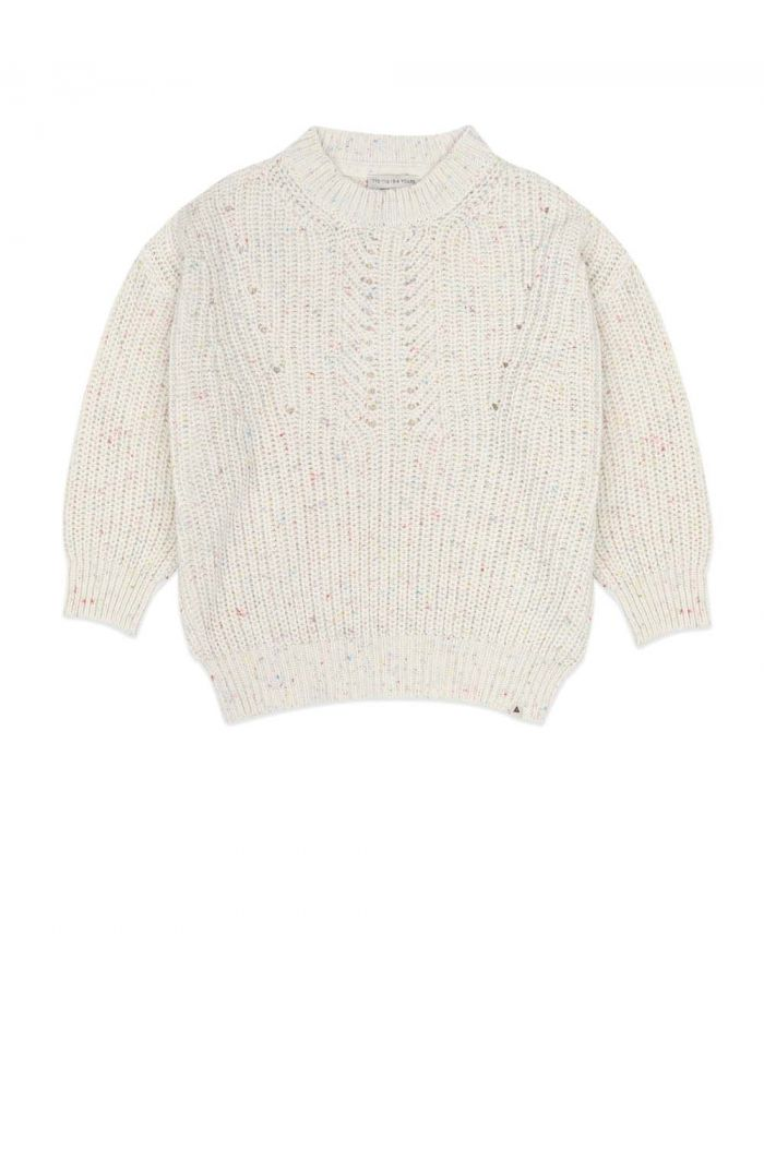 Ammehoela Jumper Egg white/Multi