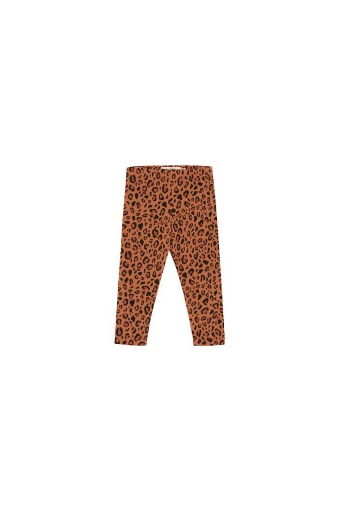 Tinycottons Animal Print Pant brown/dark brown