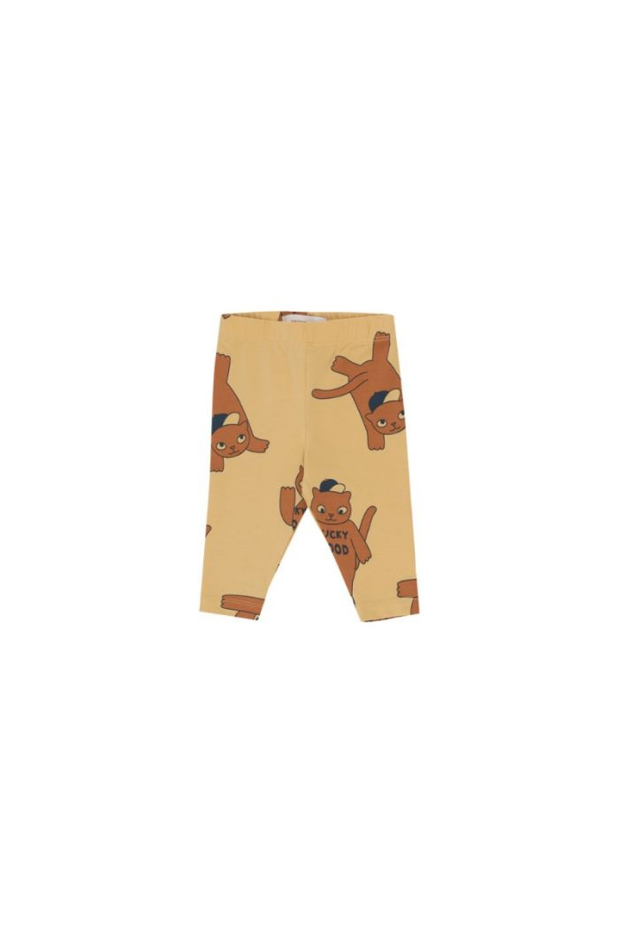 Tinycottons Cats Pant sand/brown