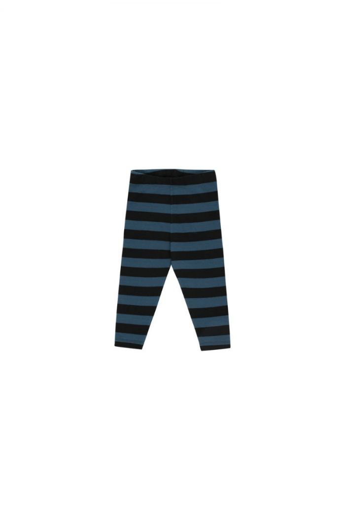 Tinycottons Stripes Pant black/true navy