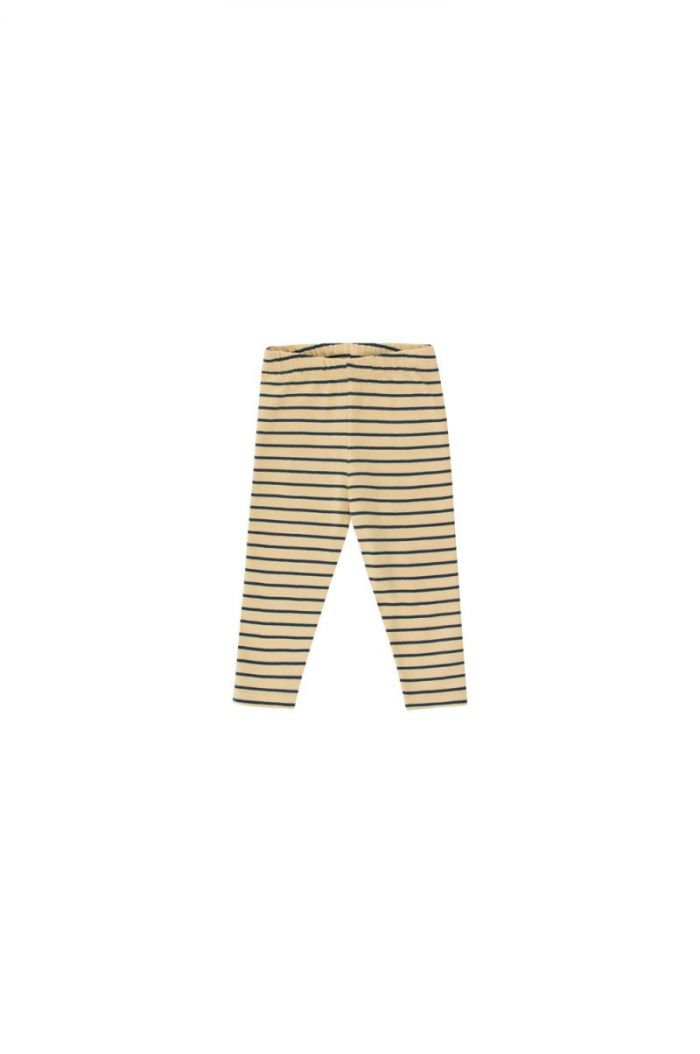 Tinycottons Stripes Pant sand/true navy