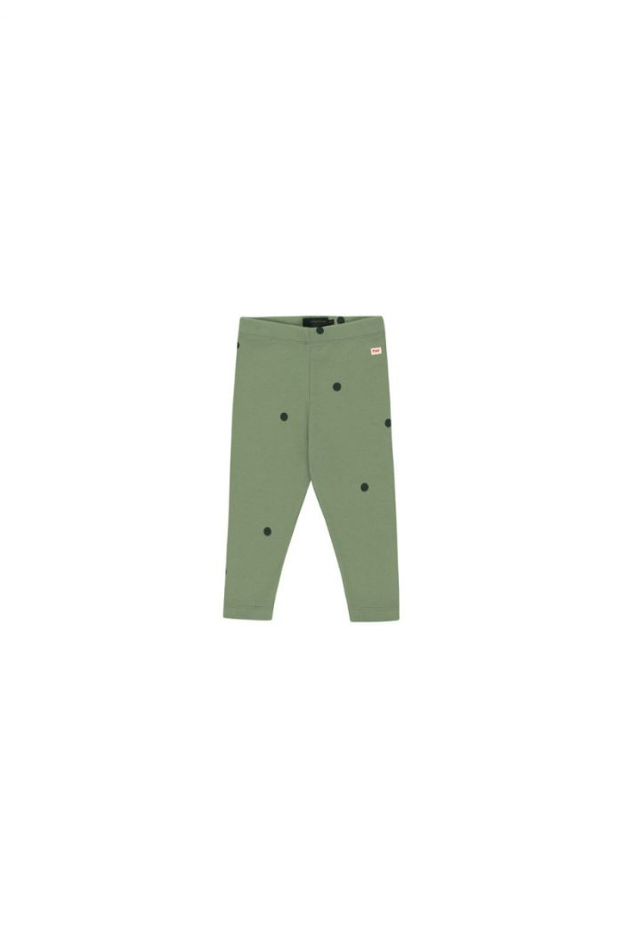 Tinycottons Dots Pant green wood/bottle green