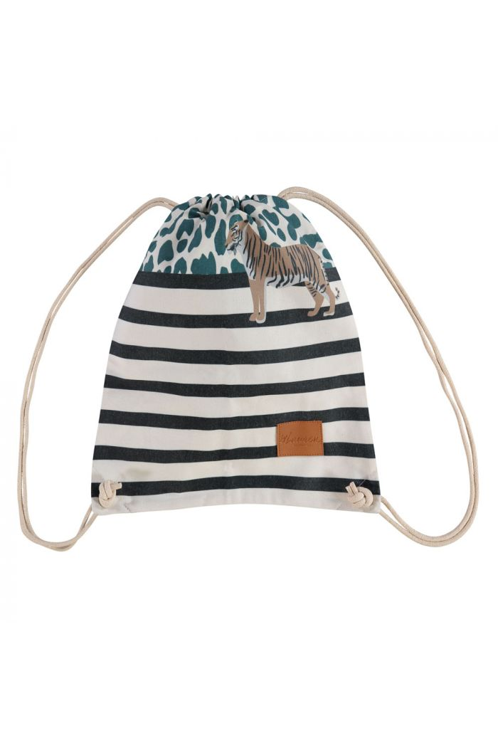 by Lauren Small Backpack Wild Thing Green