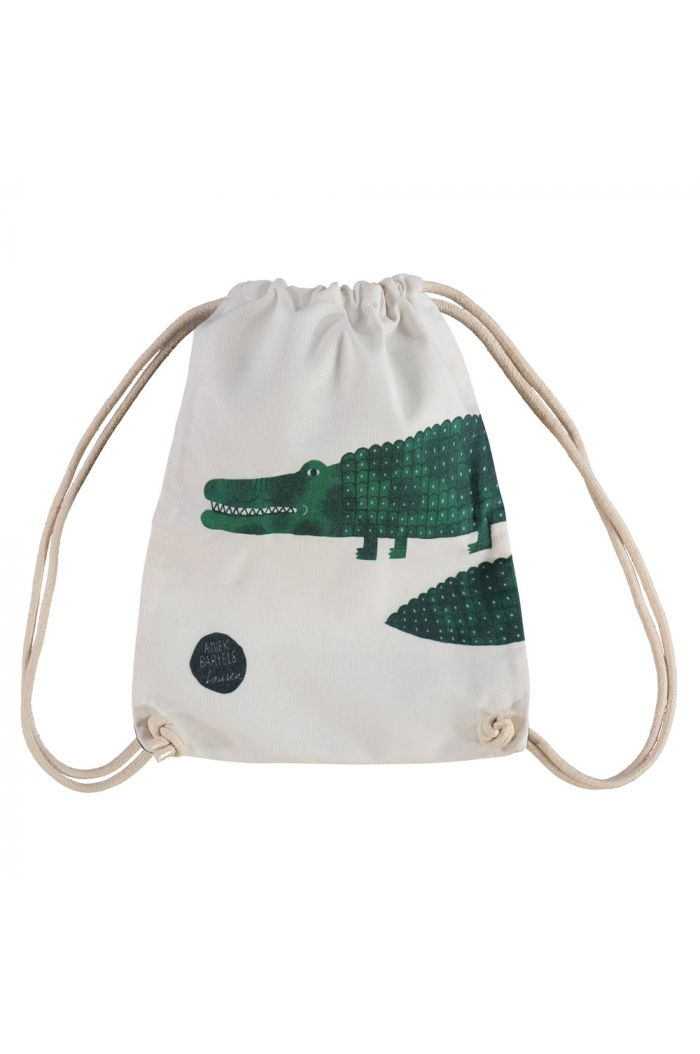 by Lauren Small Backpack Crocodile