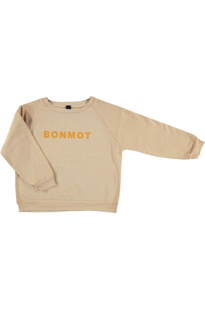 Bonmot Ranglan Sweatshirt Maple sugar