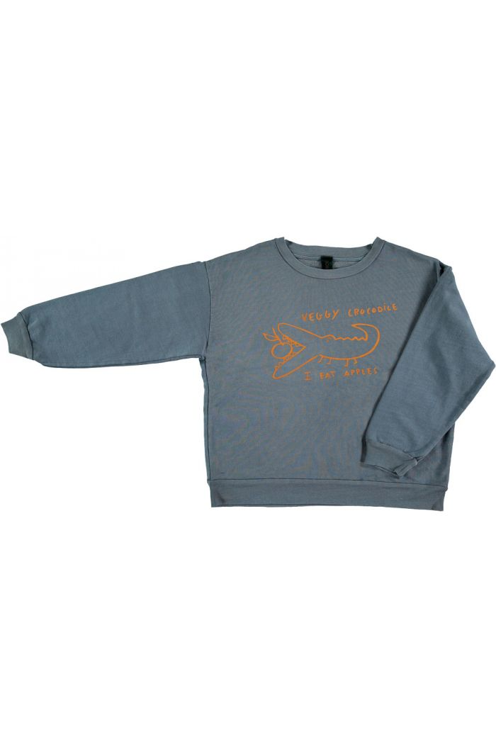 Bonmot Sweatshirt Croco Deep Blue