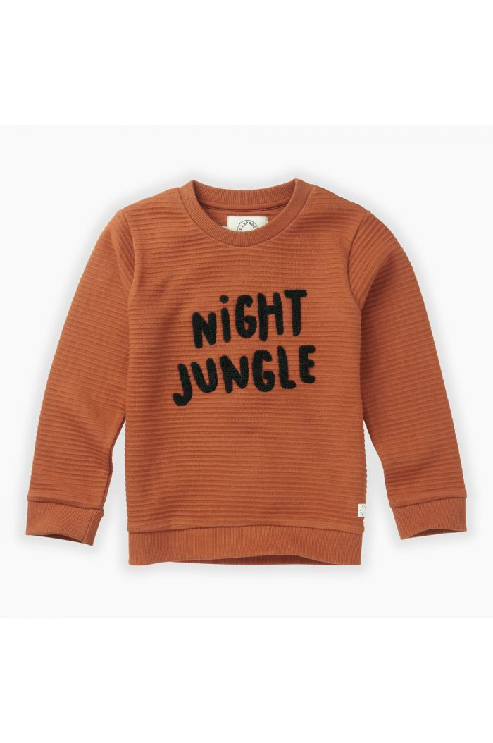 Sproet & Sprout Sweatshirt Night Jungle Ginger