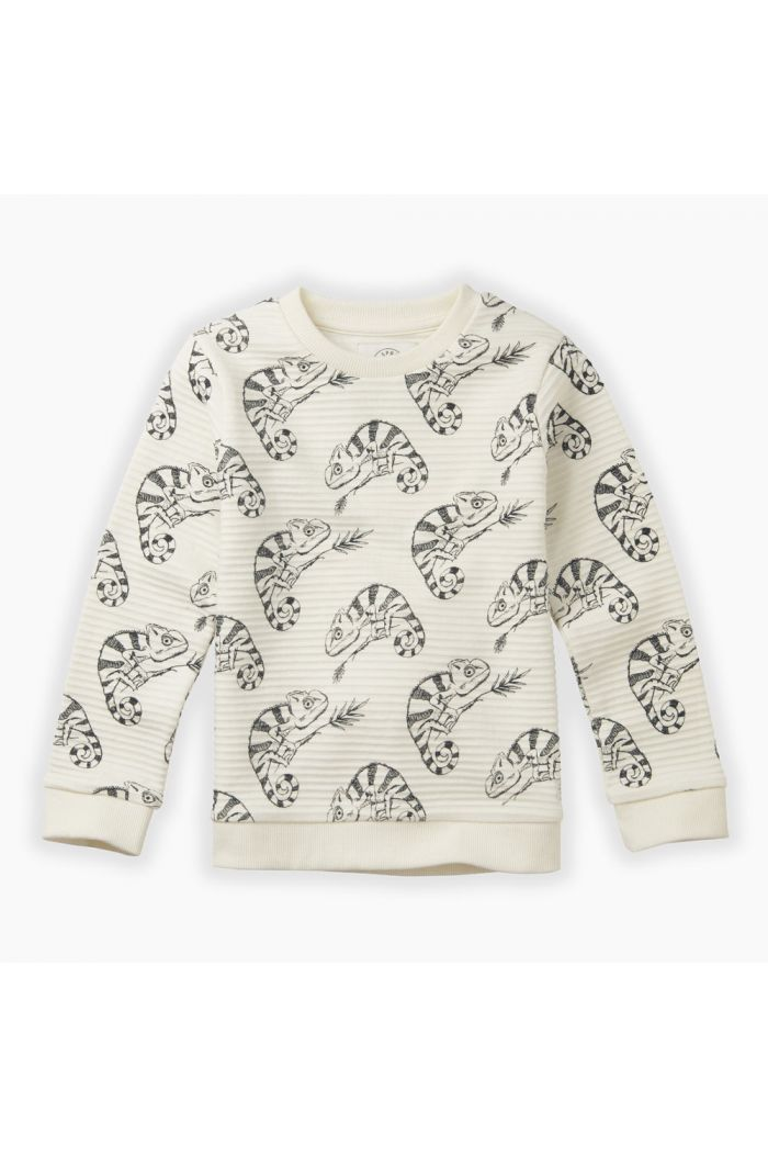 Sproet & Sprout Sweatshirt Chameleon All-over print Milk