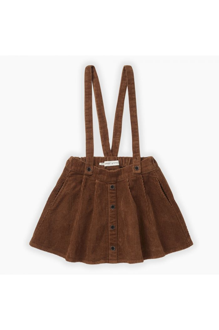 Sproet & Sprout Corduroy skirt Mocha