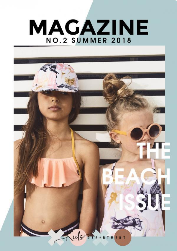 Kids Department magazine: the Beach Issue