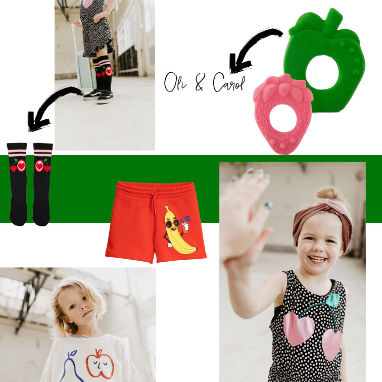 veel fruit bij kids department